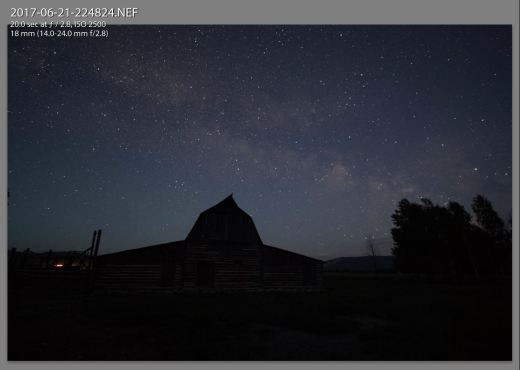 Night Barn Original Capture