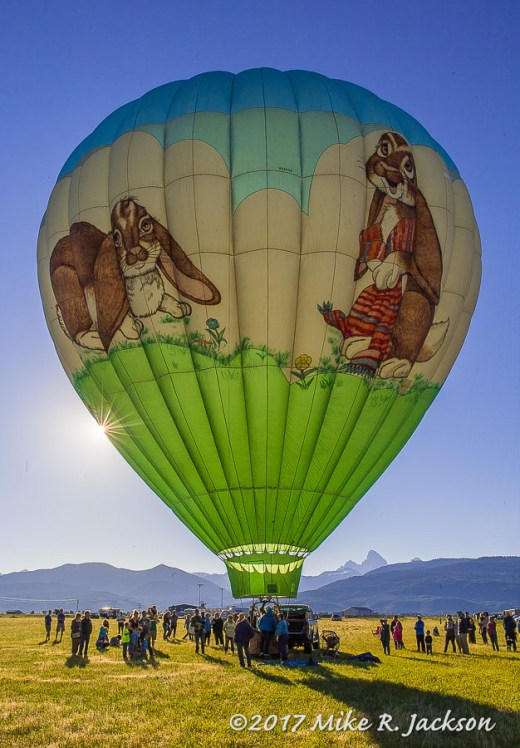 Teton Valley Hot Air Balloon Ralley
