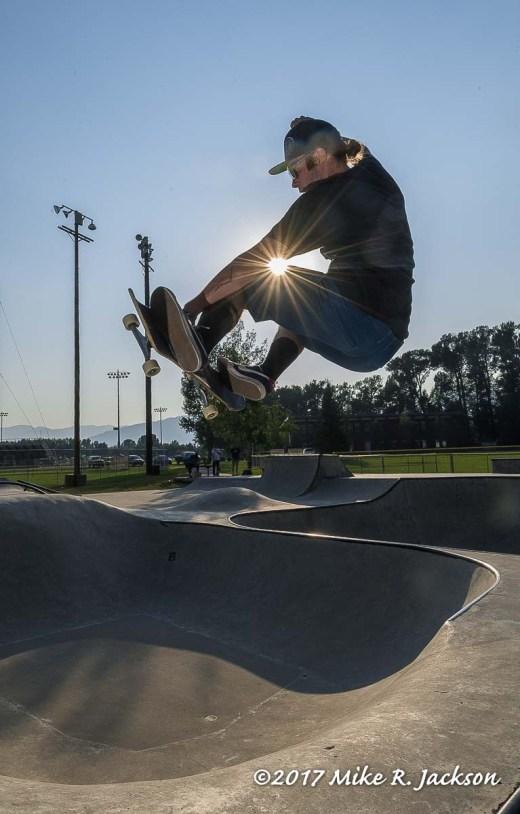Corey Skateboarding