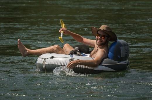 Tyler in Snake River