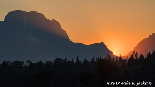 Mt. Moran Sunset