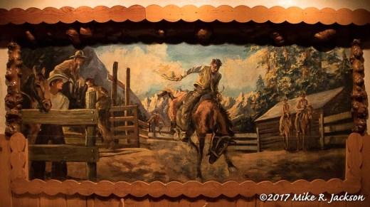 Cowboy Bar Mural