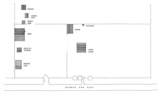 Andy Chambers Homestead Site Plan