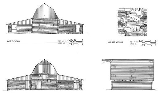 John Moulton Barn Elevations