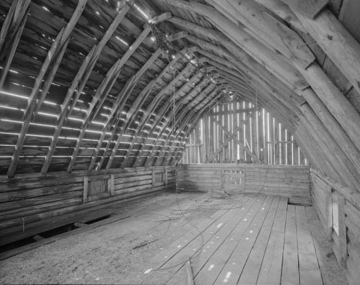 John Moulton Barn Interior