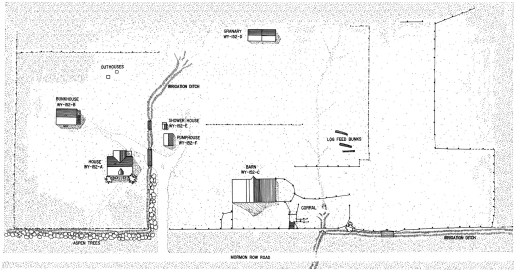 John Moulton Homestead Site Plan