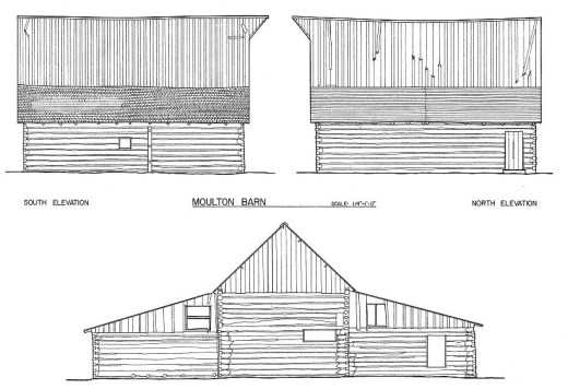 TA Moulton Barn Back Elevation