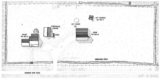 Thomas Murphy Homestead Site Plan