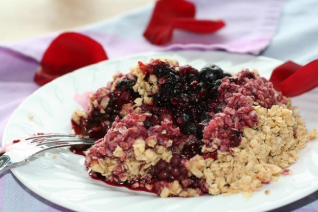 Gluten-Free Berry Crumble