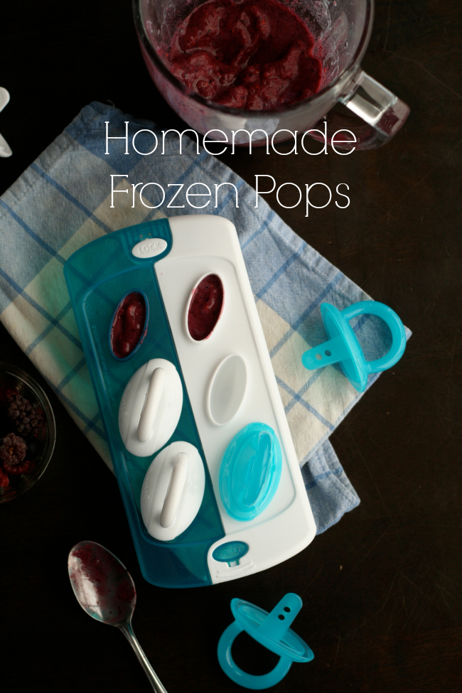 Homemade Frozen Pops  www.bestofthislife.com