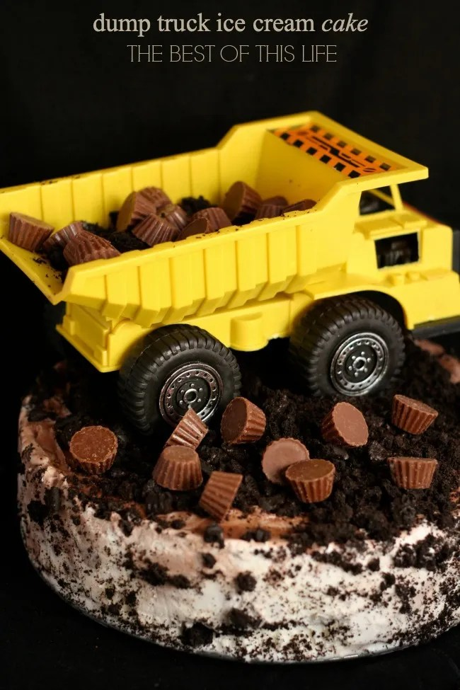 Dump Truck Might Machines Birthday Cake 1 www.bestofthislife.com