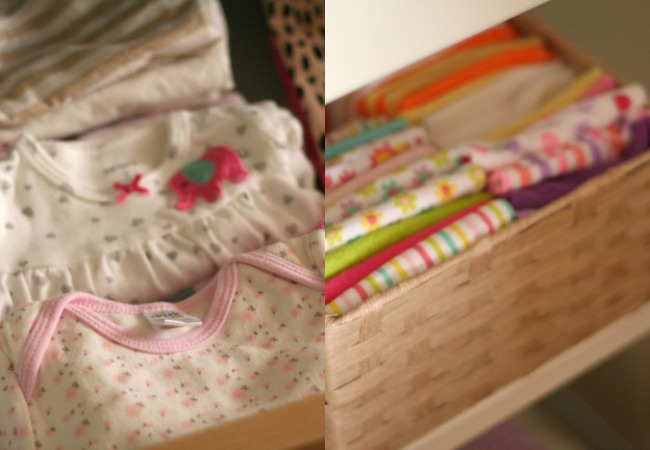 Nursery Details, baby clothes + face cloths www.bestofthislife.com