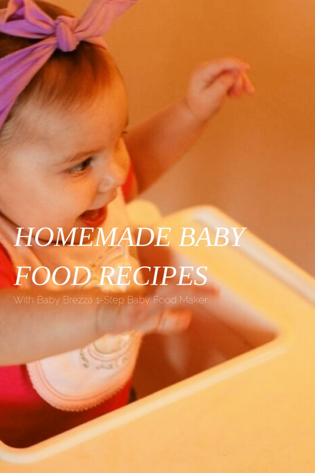 Homemade Baby Food Recipes | The Best of this Life #homemade #babyfood