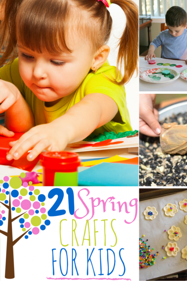 21 Spring Crafts for Kids