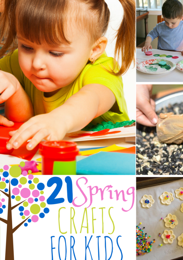 21 Fun Spring Crafts and Activities for Kids