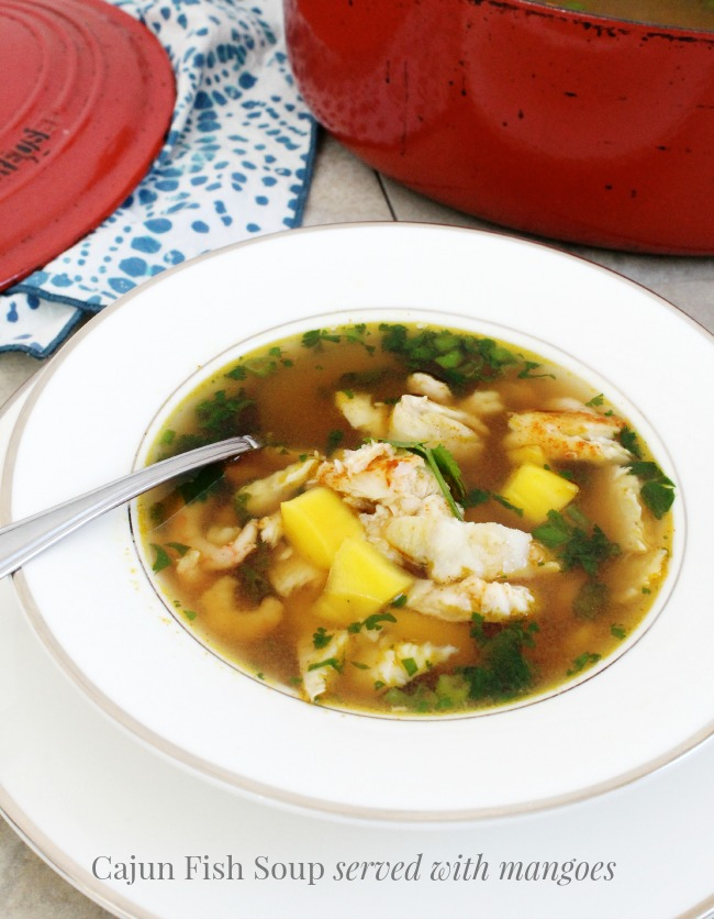 A hearty, flavourful cajun fish soup that warms the soul.