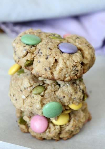 Bunny Trail Mix Cookies For A Healthier Easter Treat
