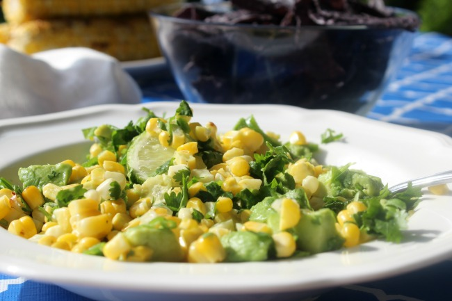 Avocado and Grilled Corn Salsa Ricardo Recipes