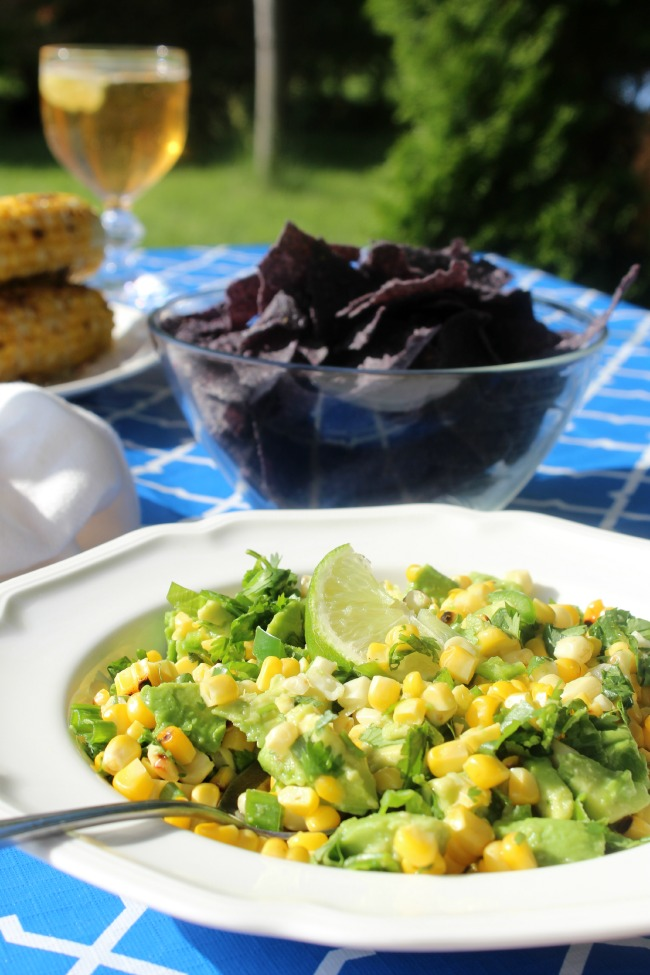 Ricado Recipes Avocado and Grilled Corn Salsa