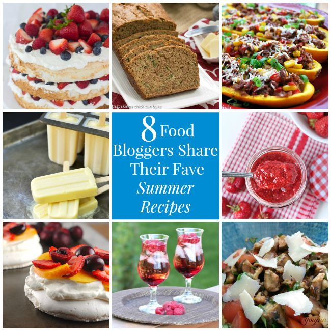 8 Food Bloggers Share Their Favourite Summer Recipes