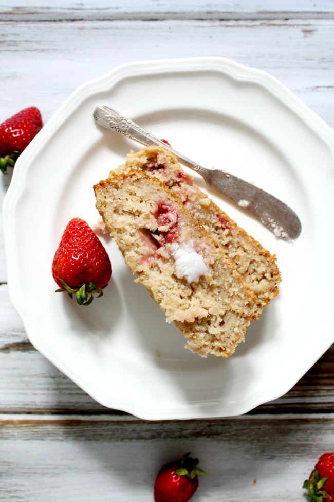 Strawberry Apple Sauce Bread