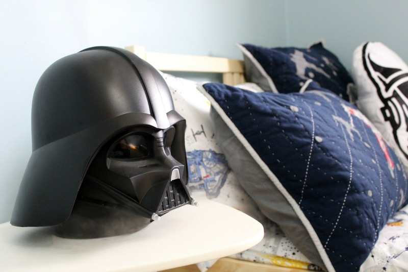 Star Wars Boys Room Makeover featuring humidifier from Giant Tiger