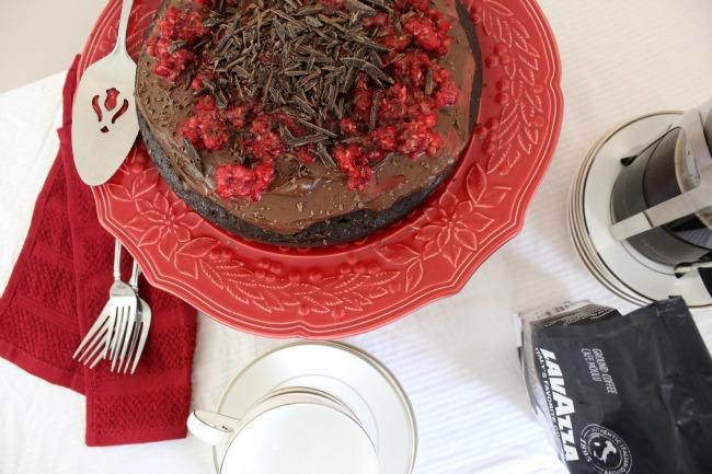 Gluten Free Chocolate Cake Lavazza