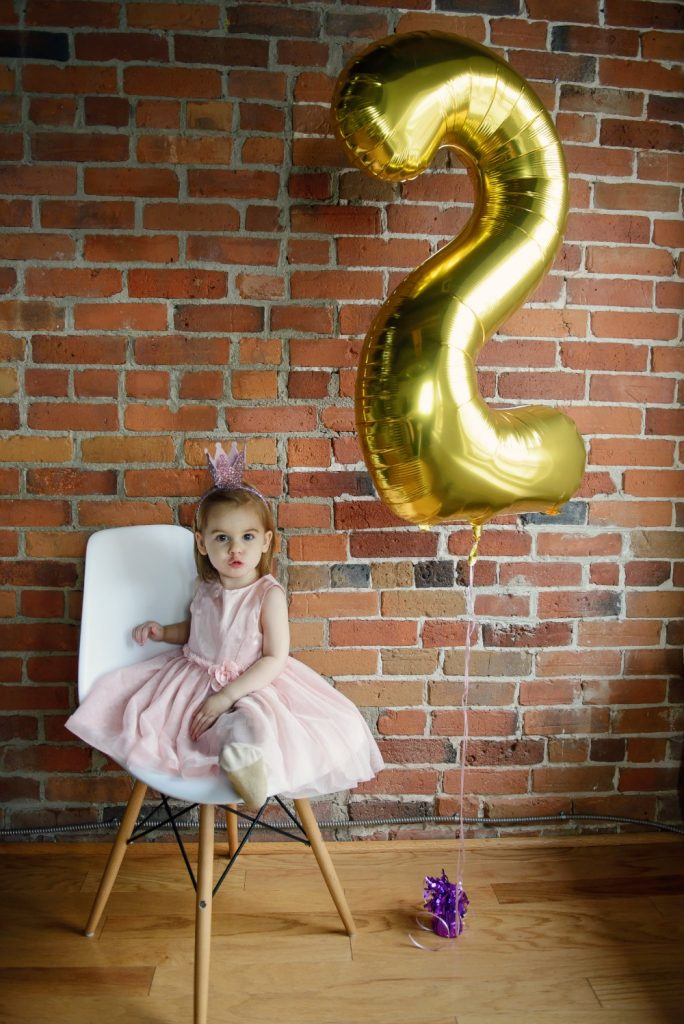 Abigail turns 2