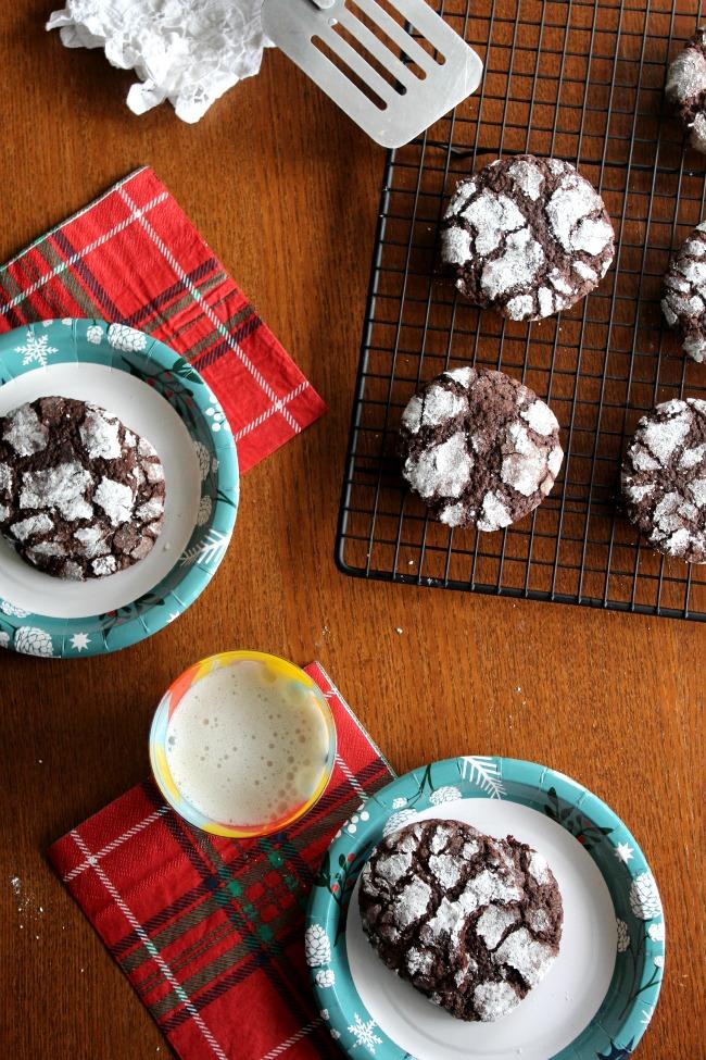 Gluten Free Crinkle Cookies