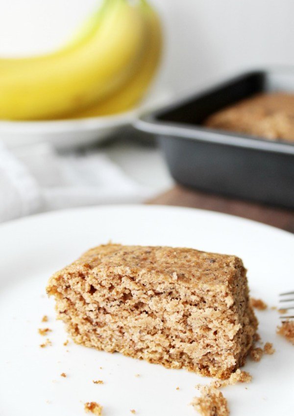 Gluten-Free Banana Snacking Cake