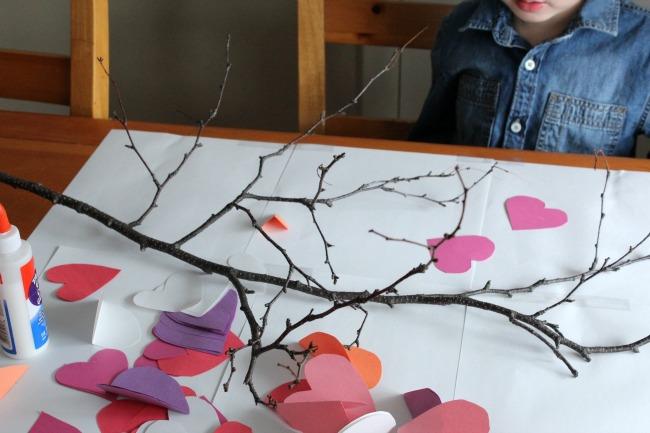 Valentine's Day Heart Tree 1