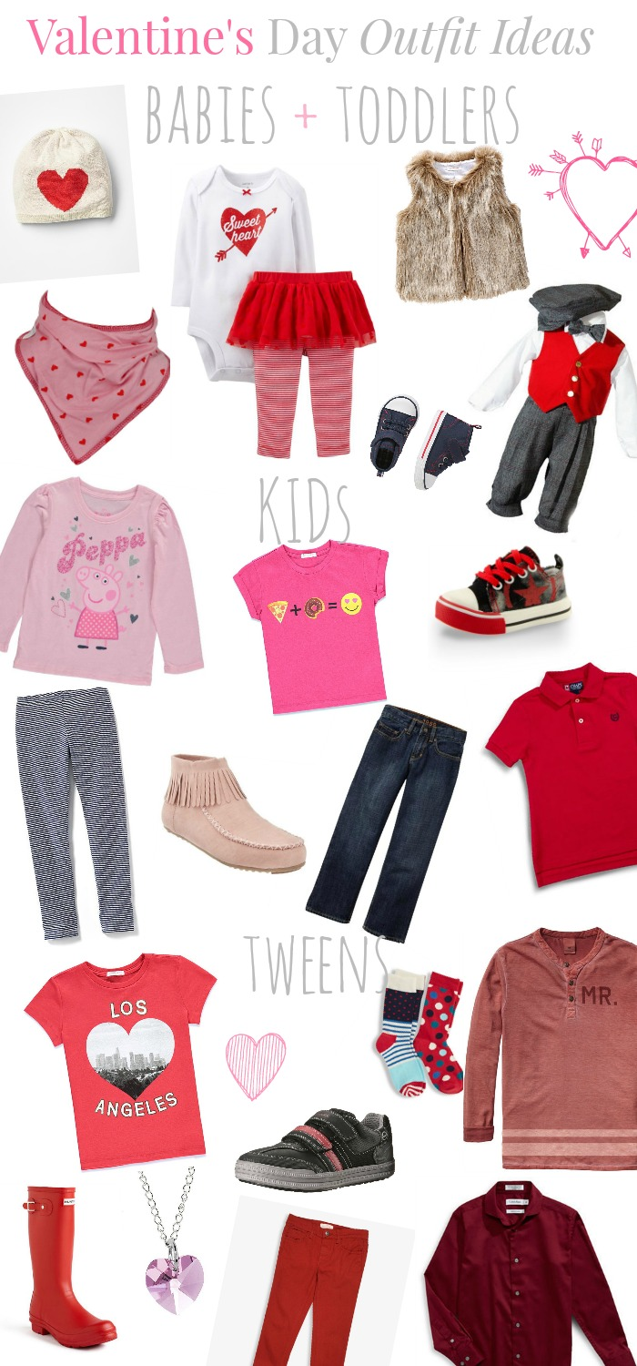 Sweet Valentineu0026#39;s Day Outfit Ideas For Kids - The Best of ...
