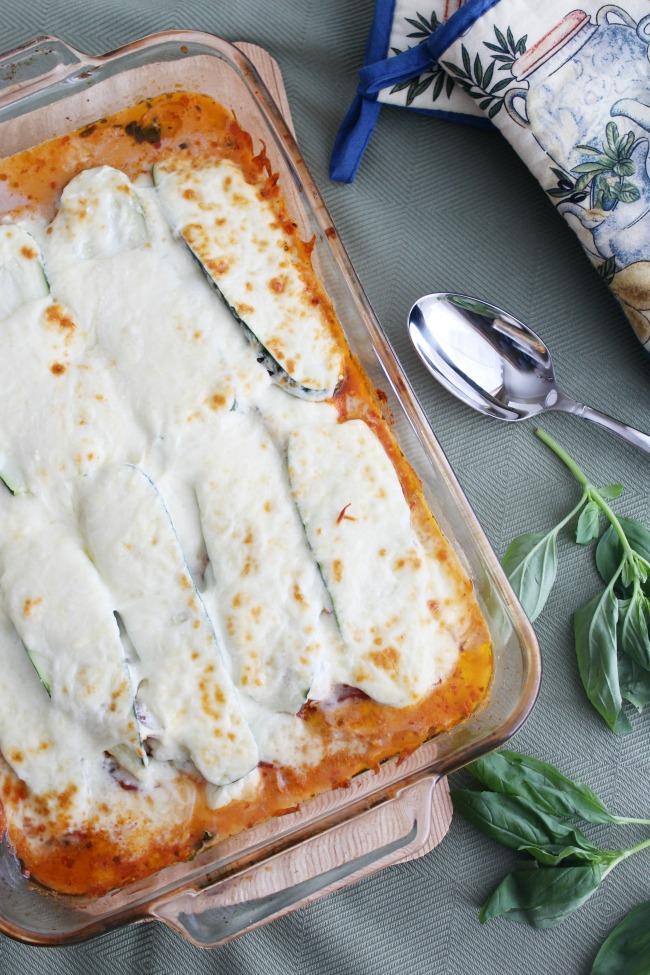Zucchini Lasagna (gluten-free)