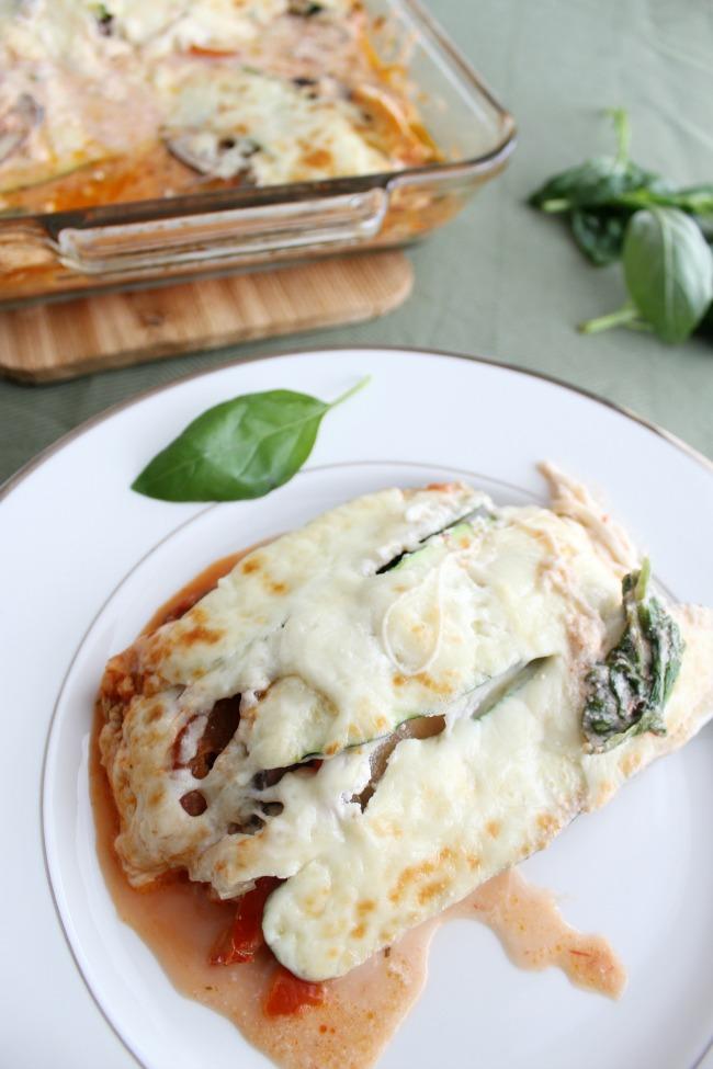 Zucchini Lasagna (no-noodles) gluten-free