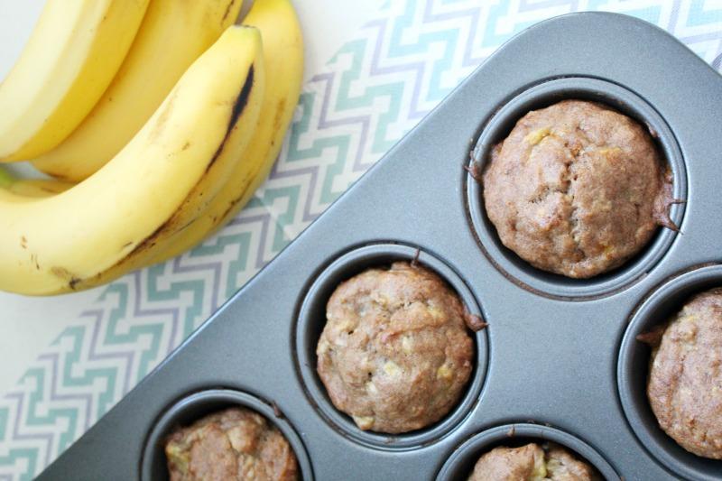 Gluten-Free Banana Muffins bestofthislife.com