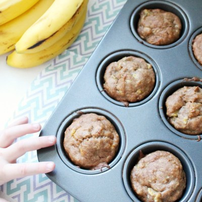 Easy Gluten-Free Banana Muffins Perfect For Snack Time
