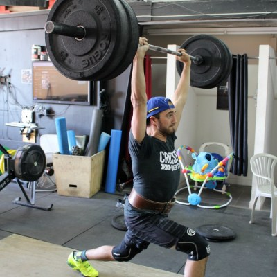 Testing my limits at Crossfit Bytown