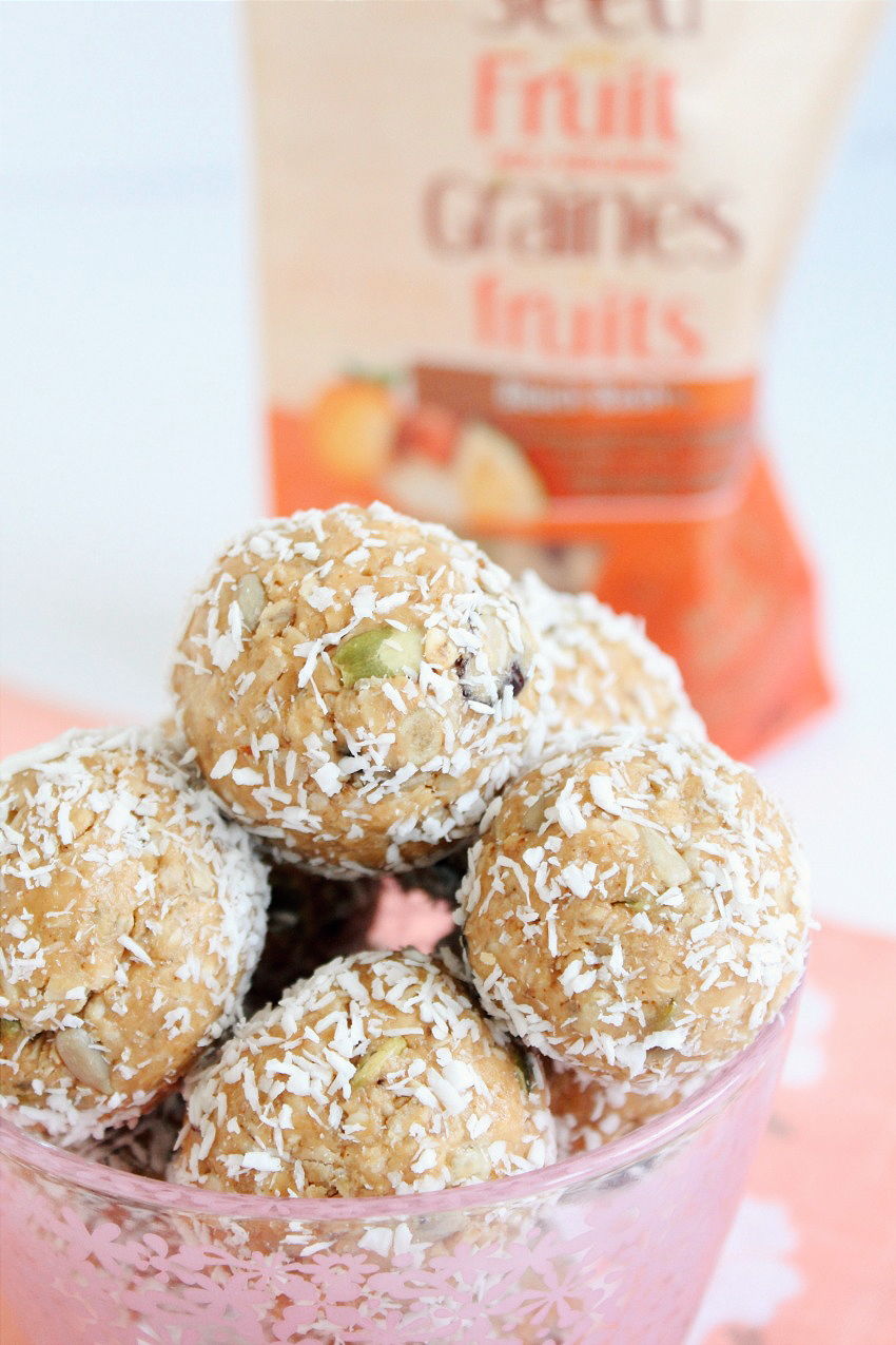 Gluten-Free Tropical Snack Bites