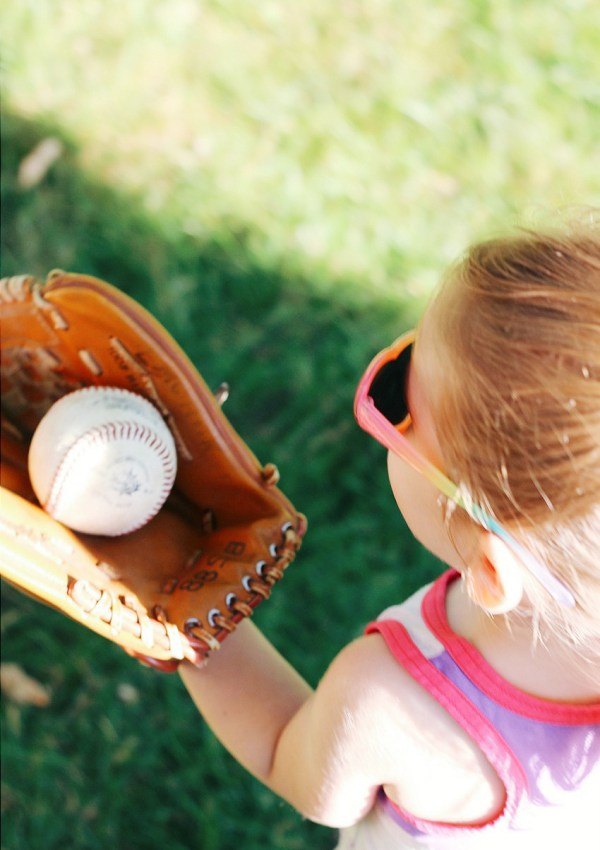 I want my daughter to always play sports like a girl, just like me