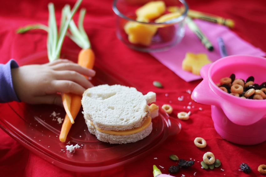 Creative Sandwiches and menu item ideas for school lunches