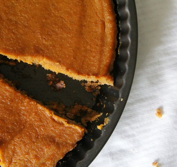 A Delightful Gluten-Free Pumpkin Tart Just in Time for Thanksgiving