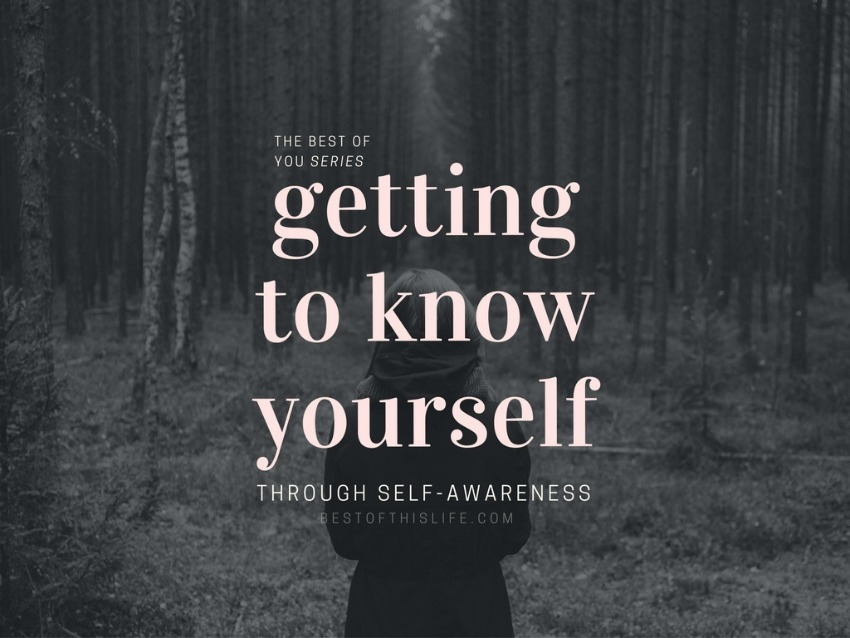 you know yourself best