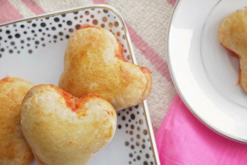 Heart Shaped Calzones