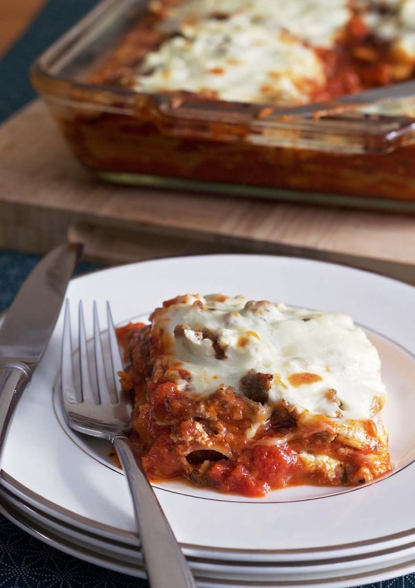 A Healthier Meat Lasagna + $150 PC® Gift Card Giveaway! #TradingUp
