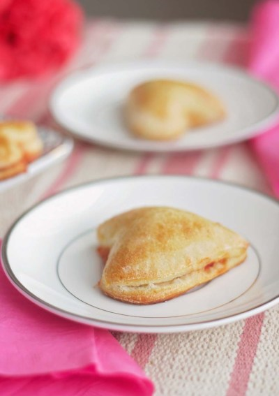 Say I Love You with Valentine's Day Heart-Shaped Calzones