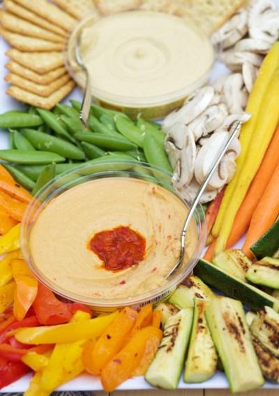 Create A Beautiful Seasonal Vegetable Platter for Summer Entertaining