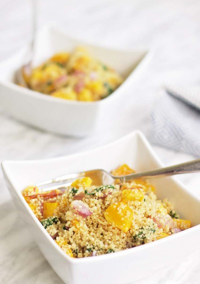 Butternut Squash, Spinach, and Quinoa Casserole