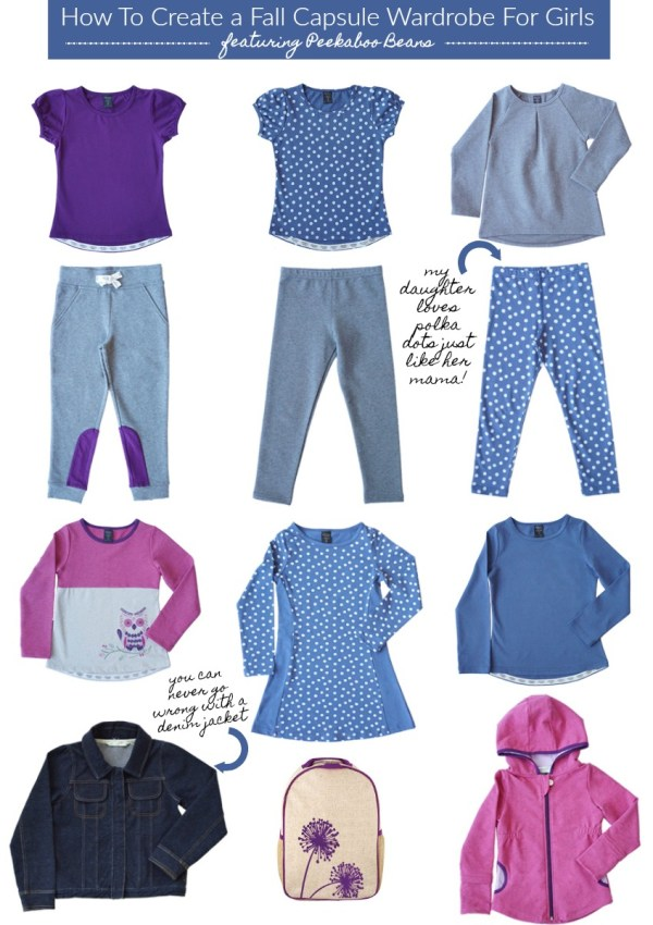 How To Create a Fall Capsule Wardrobe For Kids