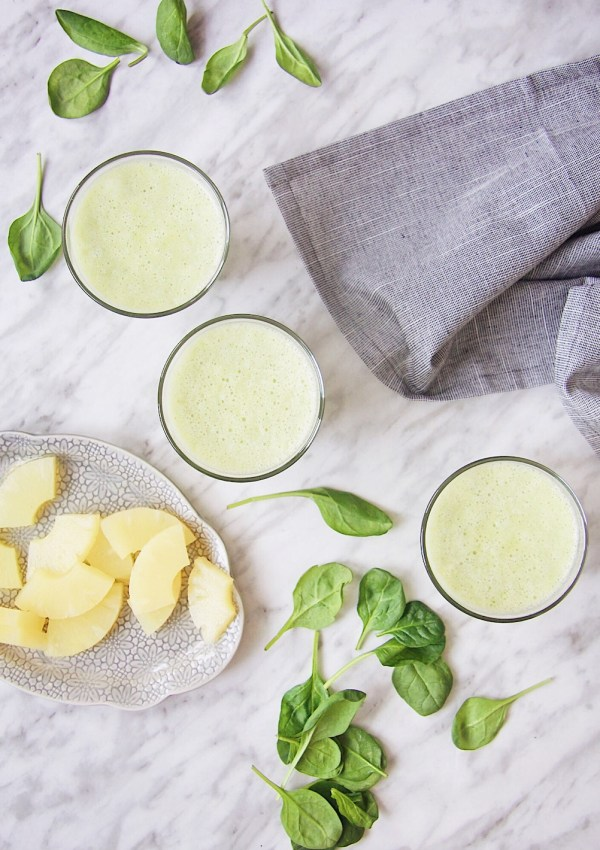 Want More Energy? Kickstart Your Day With A Pineapple Green Smoothie