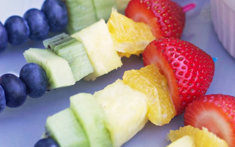These Rainbow Fruit Kabobs Are Fun to Make and Tasty to Eat!